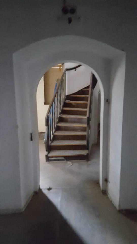 Ansicht Aufgang Treppenturm