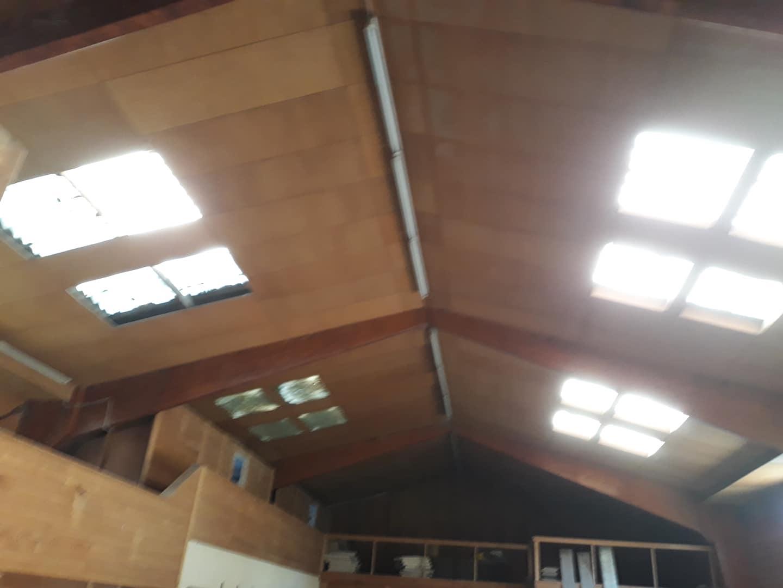 Rückbau einer Dacheindeckung inkl. Dämmung (alte Mineralwolle)