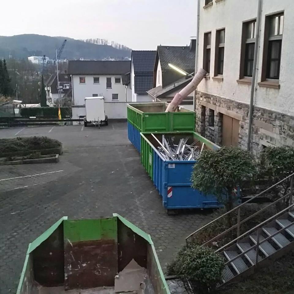 selektiver Rückbau - Komplett Entkernung Arbeitsgericht Arnsberg