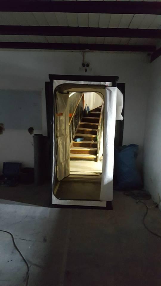 Zugang zum Bergfried