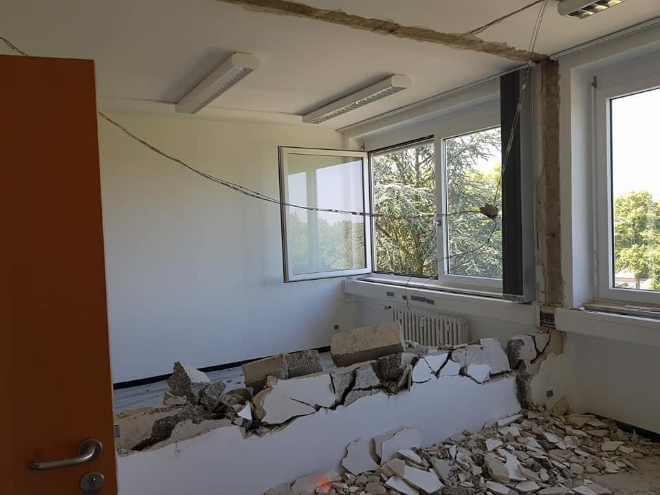 Staub und Geräuscharmer Rückbau im laufenden Bürobetrieb