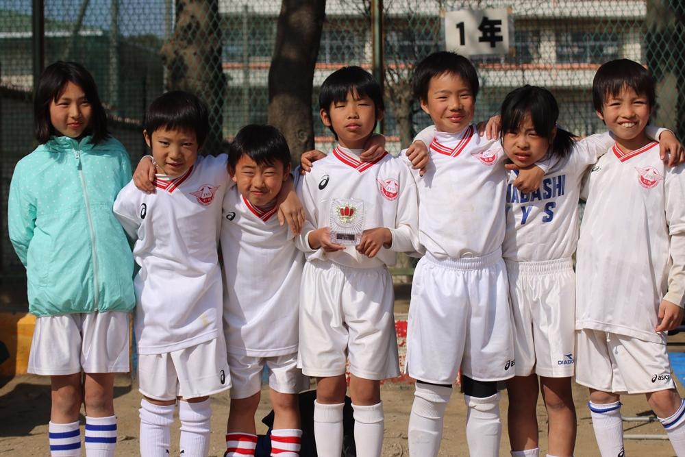 平成29年度 キッズリーグ長瀬杯 3年生 3位