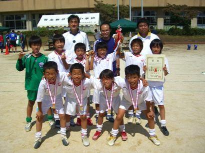 平成21年度 夏季ミニサッカー大会 4年の部 ブロック優勝