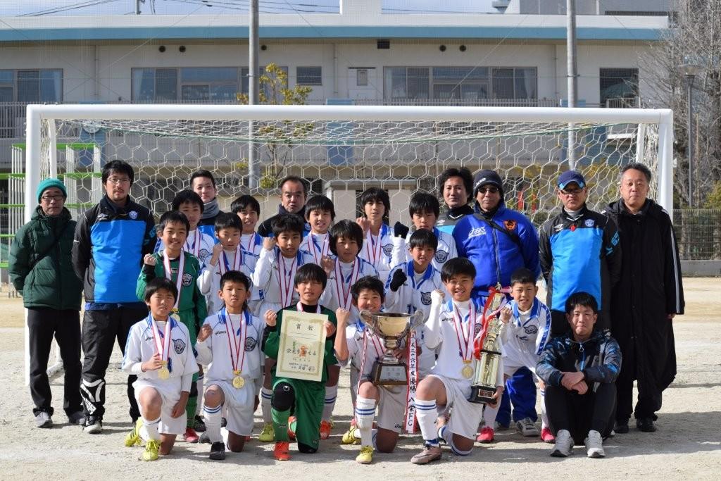 平成27年度 関塚杯船橋市卒業生サッカー大会 6年生 優勝