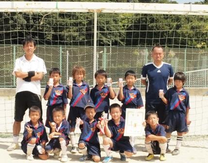 平成22年度  夏季ミニサッカー大会 2年の部 ブロック3位