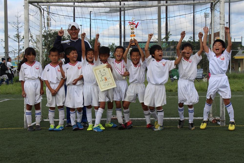 平成29年度 夏季ミニサッカー大会 3年生の部  Yブロック 優勝