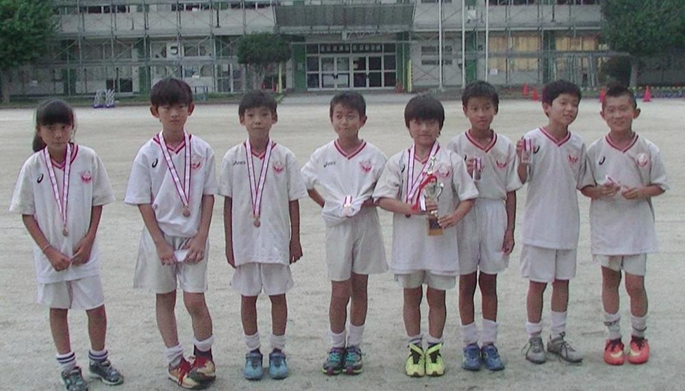 平成30年度 夏季ミニサッカー大会 4年生の部 3位