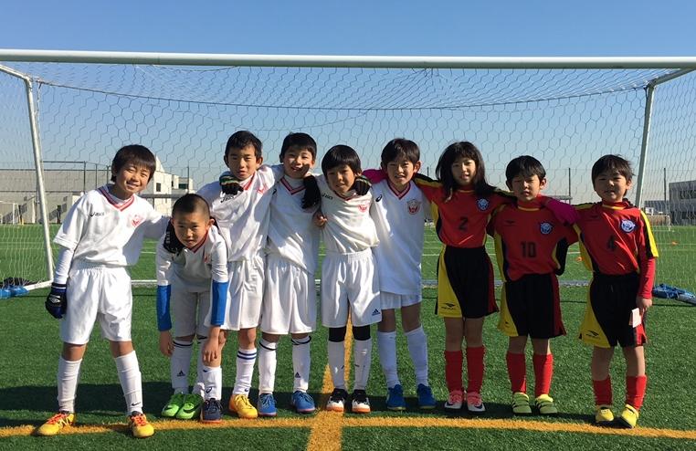 平成29年度 U-9サッカースクール冬