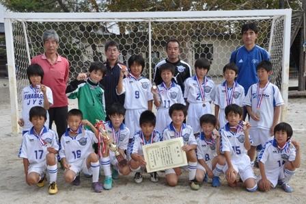 平成24年度 東武カップ5年生サッカー大会 準優勝
