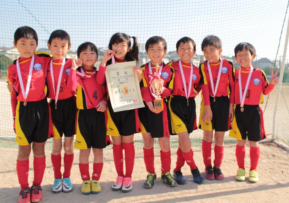 平成29年度 冬季ミニサッカー大会 2年生の部 Ⅹブロック3位