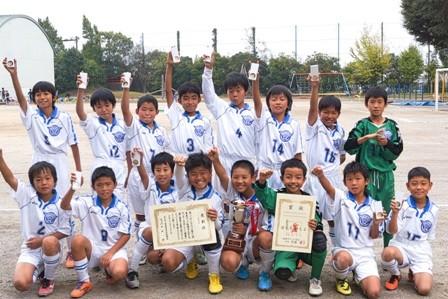 平成26年度東武カップ5年生サッカー大会 Aブロック 優勝