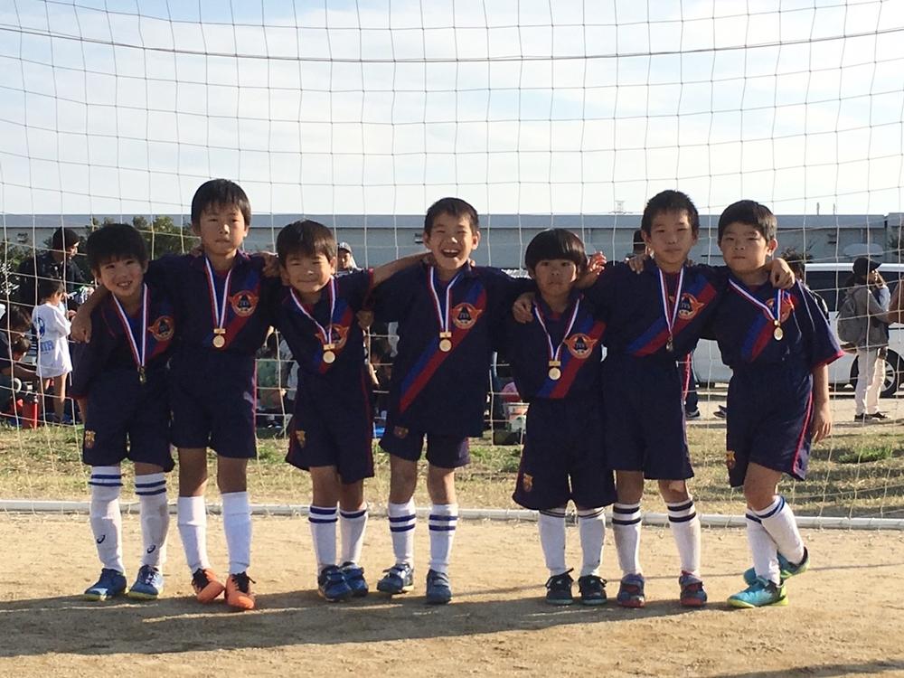 2018ラリー杯ミニサッカー大会 1年生の部 Dコート優勝