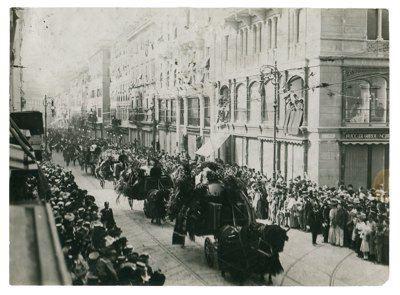 Funerale di Felice Venezian, 1908