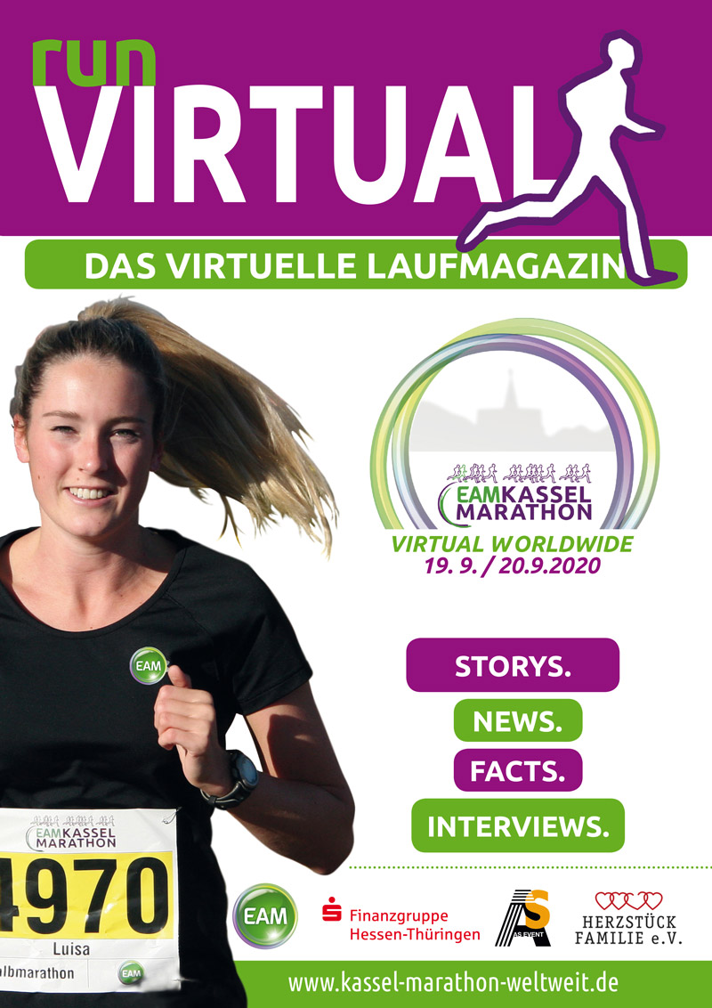 Virtual Magazine - Virtual worldwide EAM Kassel Marathon 2020