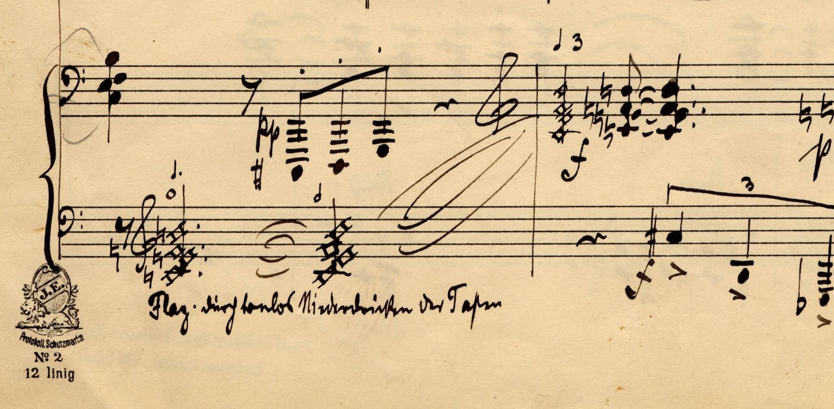 """Arnold Schönberg's Piano """"Flageolet"""""""