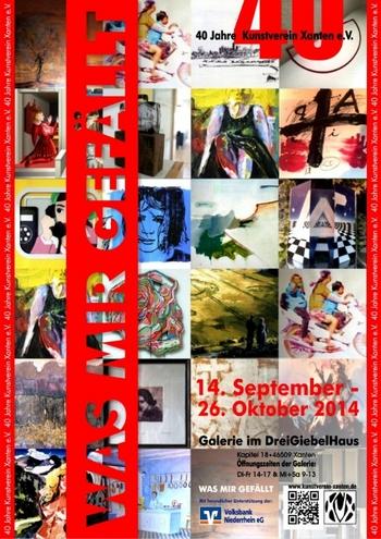 Kunstverein Xanten 40 Jahre