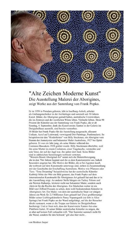 Artikel Rheinische Post vom 01.09.2016 I Foto I Armin Fischer