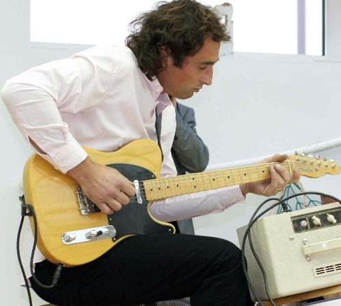 Thomas Putze spielt Bluesrock