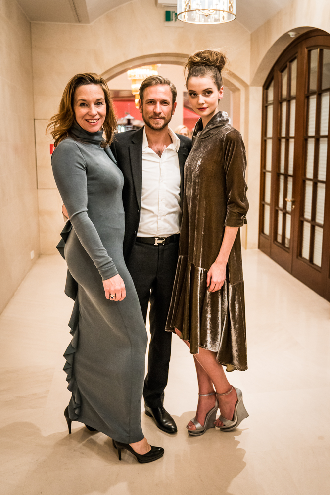 Anja Gockel und Daniel Morent auf der Fashion Week in Berlin