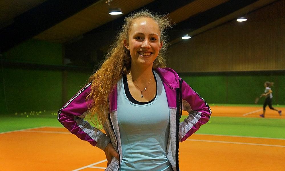 TSB-Talent Jennifer Weigl gewann 2017 die U17-Hessenmeisterschaften im Einzel