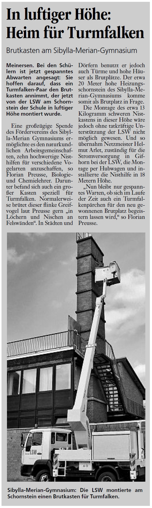 Aller Zeitung 04.05.2012