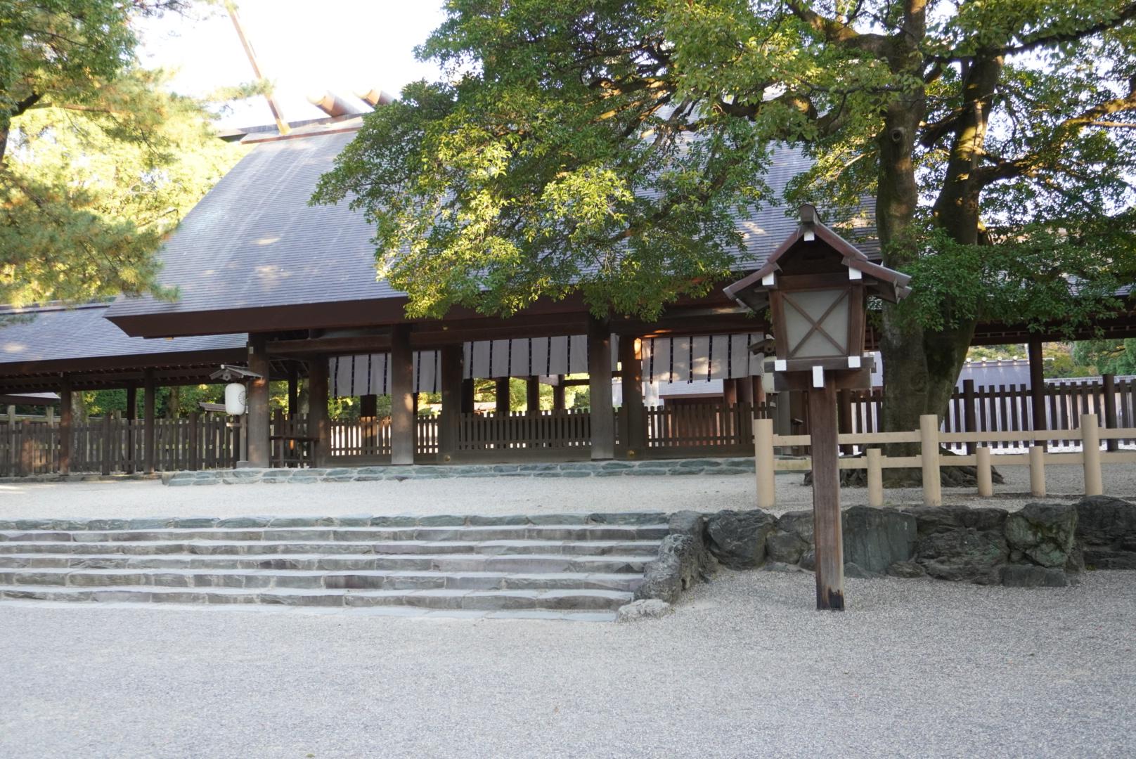 熱田神宮へお参りしてきました