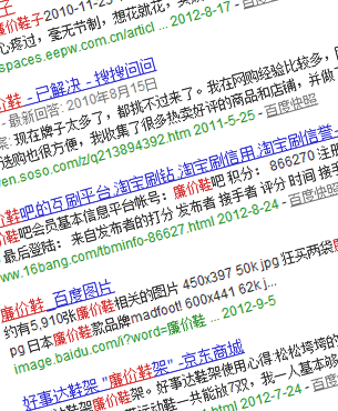 China Baidu Search Engine Optimization SEO