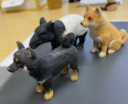 動物彫刻部を開設します。
