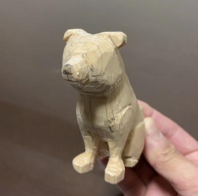 愛犬の制作