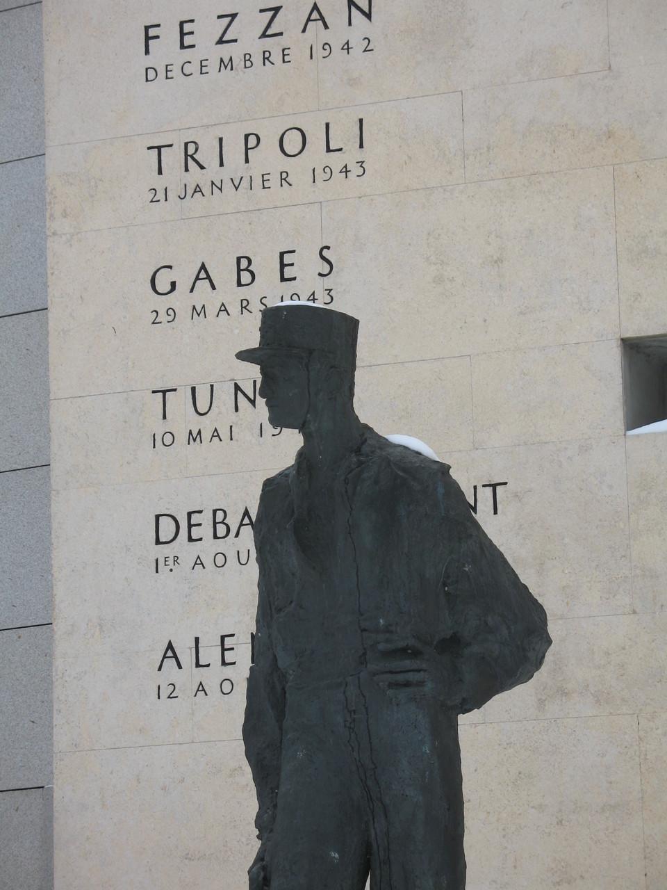 Monument du général LECLERC