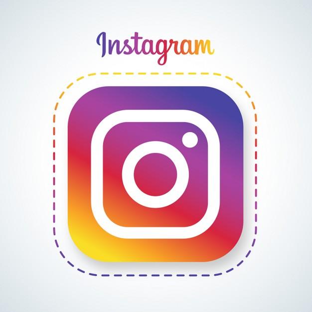 Folge mir auf Instagramm