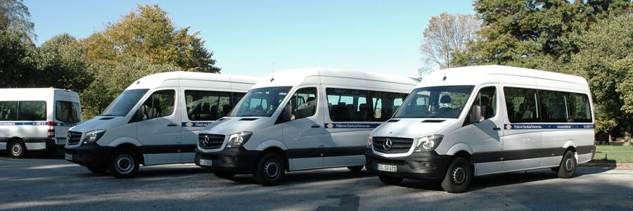 Der Fahrservice der Stambula GmbH bietet ein breit gefächertes Angebot an Fahrzeugen