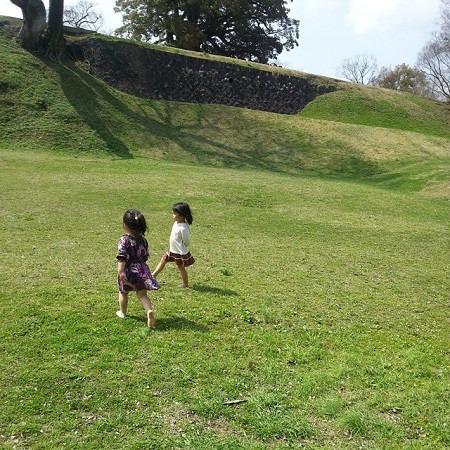 熊本城での写真♡(2015年春)