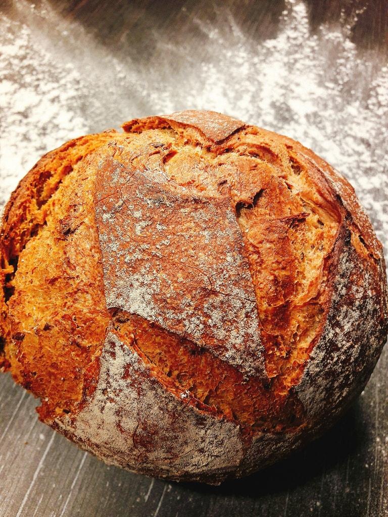 18 h : un pain omega pour le dîner
