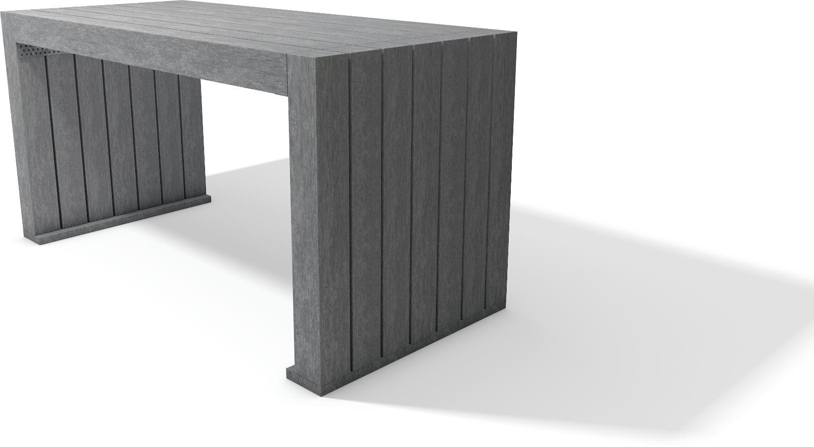 kunststoff tische rk shop recycling kunststoff produkte. Black Bedroom Furniture Sets. Home Design Ideas