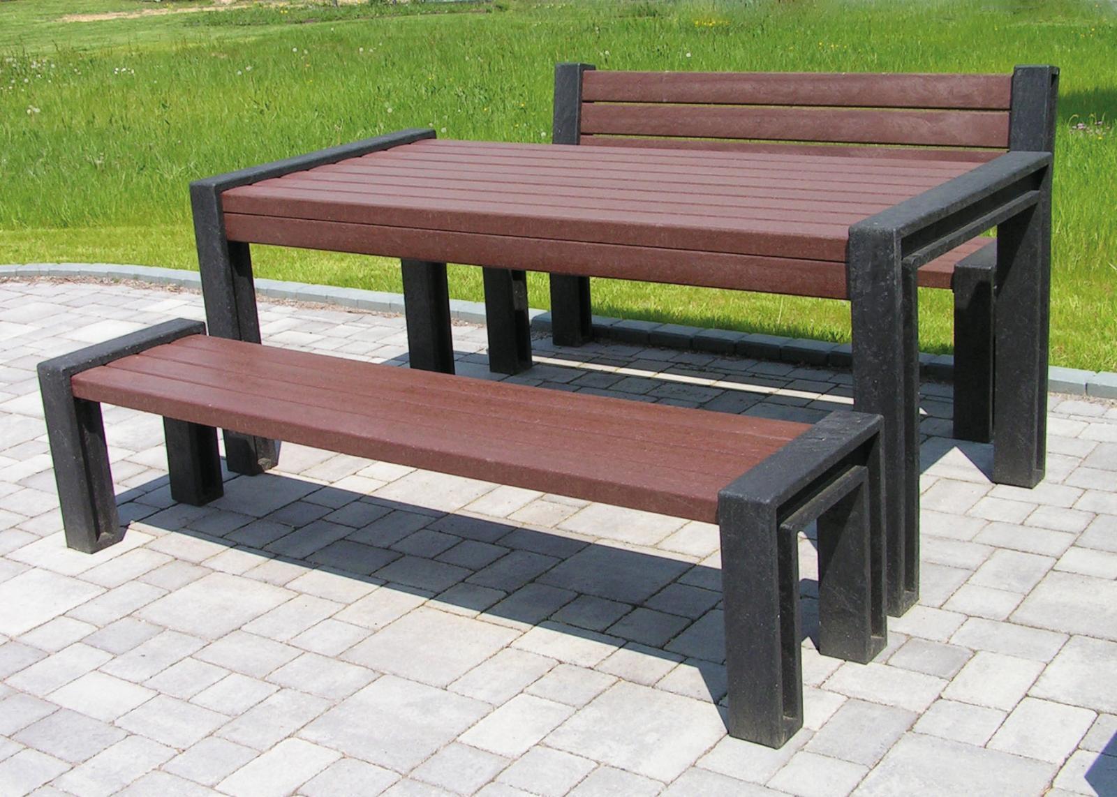 kunststoff sitzgruppe rk shop recycling kunststoff produkte. Black Bedroom Furniture Sets. Home Design Ideas