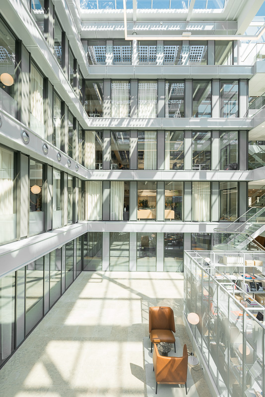 egbertdeboer.com, The Cloud, Amsterdam, Rollecate, Urbanoffice, architectuurfotografie, interieur