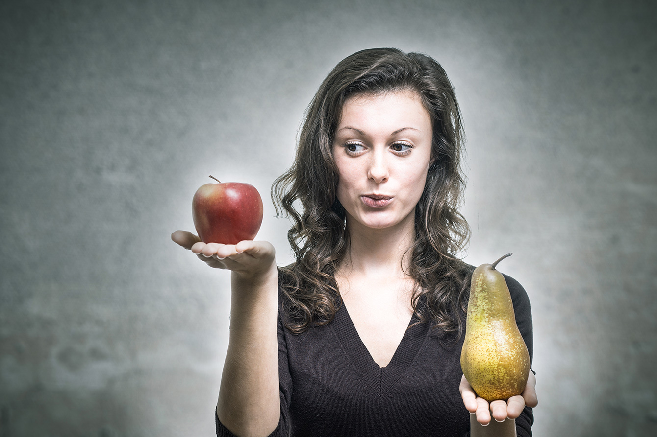 【德語趣聞】用梨去比較蘋果