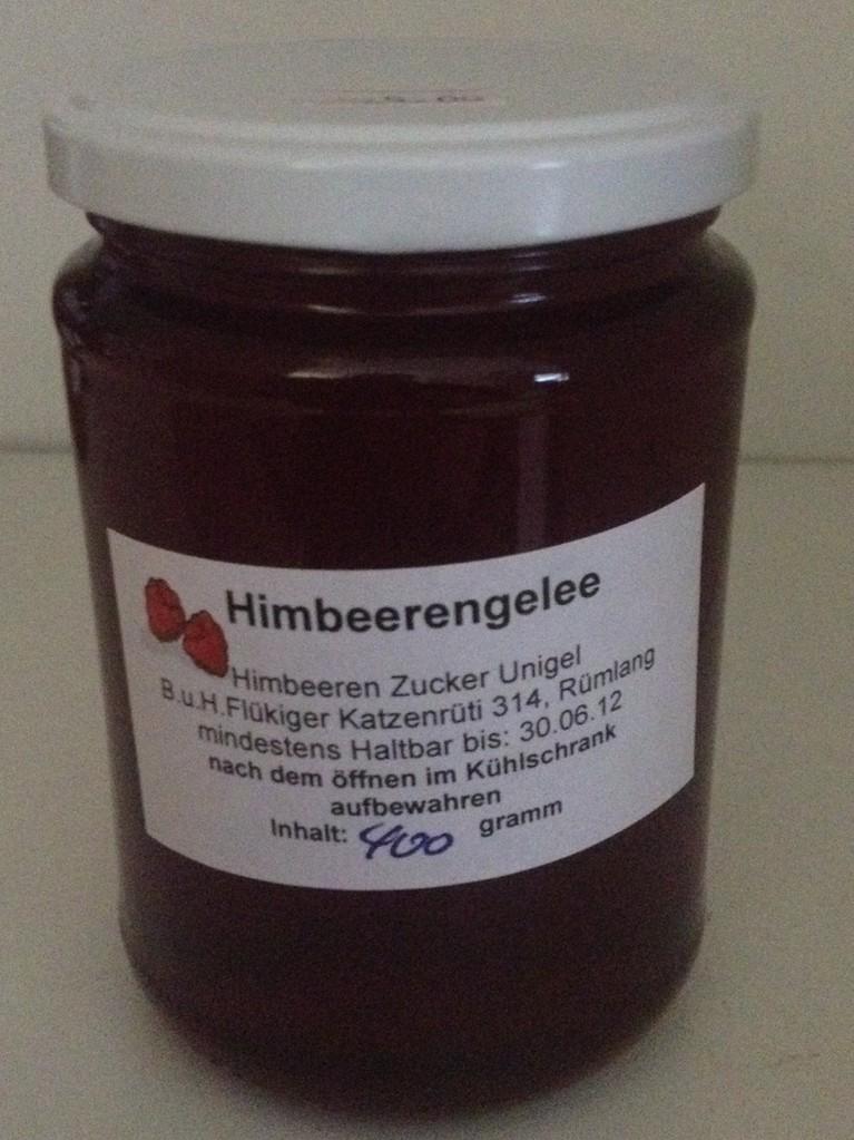 Himbeerengelee