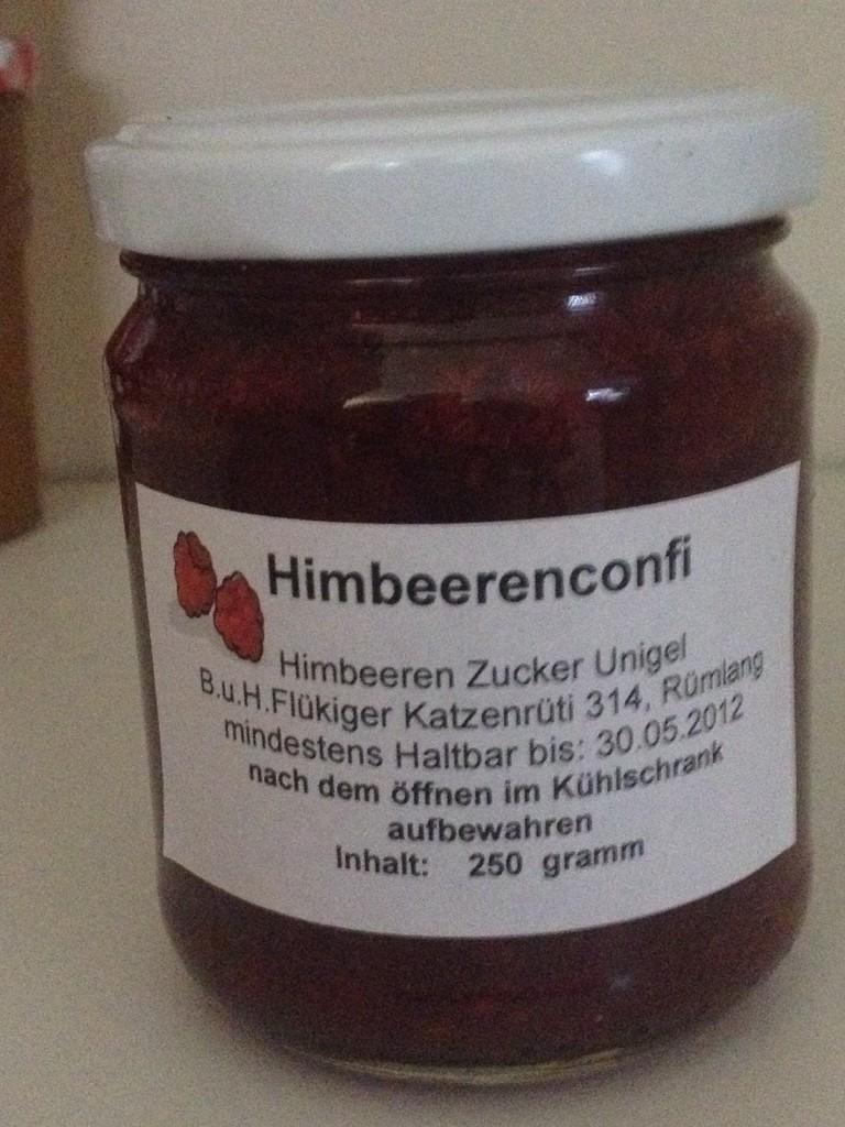 Himbeerenconfi