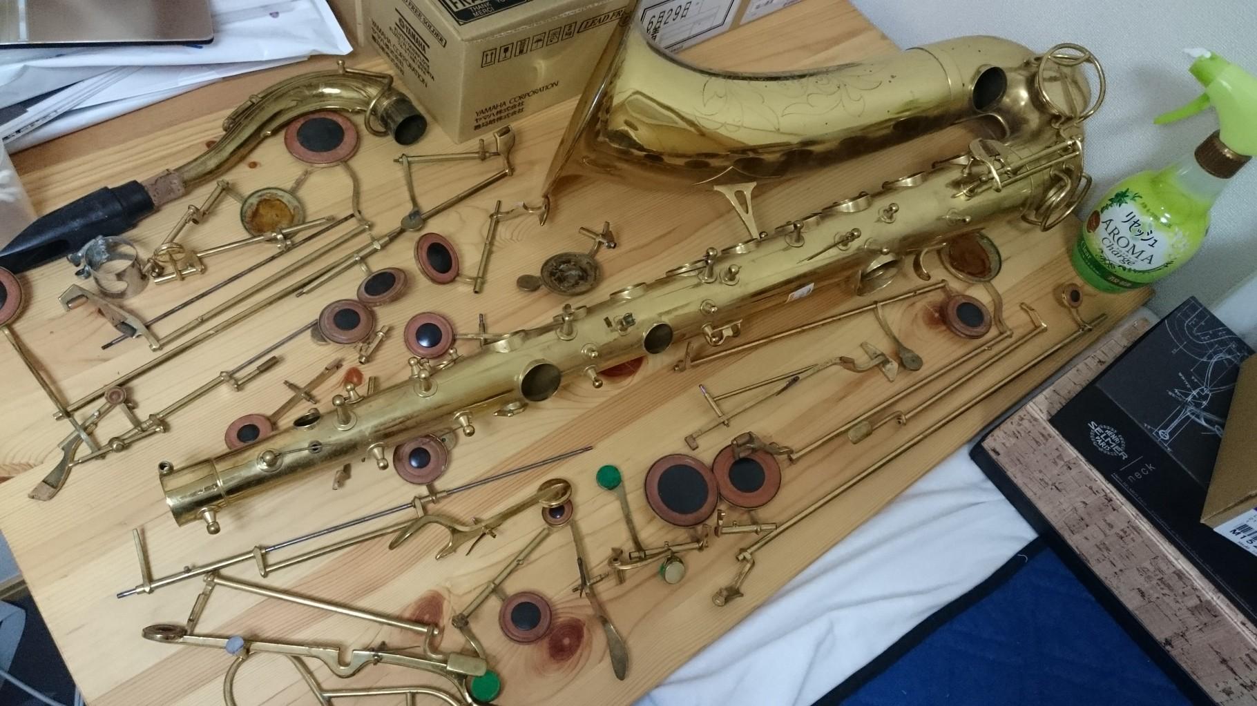 ヴィンテージ楽器修復