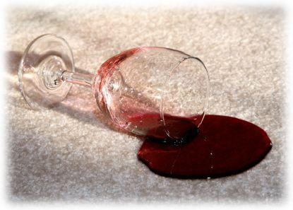 Rode wijn Vlekken verwijderen