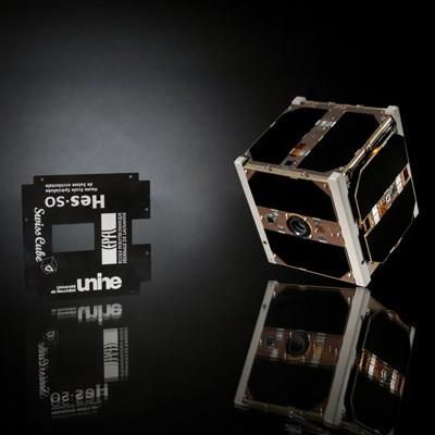 SwissCube, der erste schweizer Satellit - Bild Credits EPFL