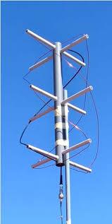 Die Quadrifilare Helixantenne wurde bei der HSLU beim Swiss Space Summer Camp von Studenten gebaut