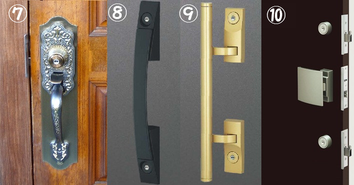 鍵交換の形式プッシュプル錠