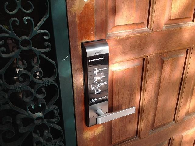 デジタルロック V100 屋外側