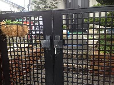 カギの救助隊福岡コラム,門扉の鍵