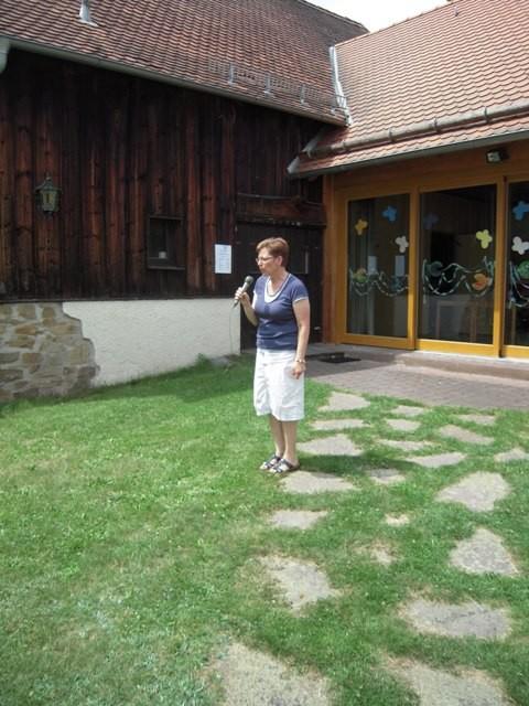 Lydia Rausch eröffnet den Familiennachmittag