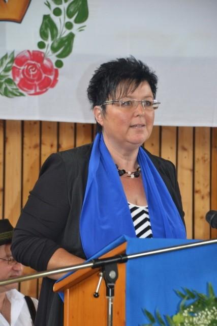 Diözesanvorsitzende Frau Schlecht