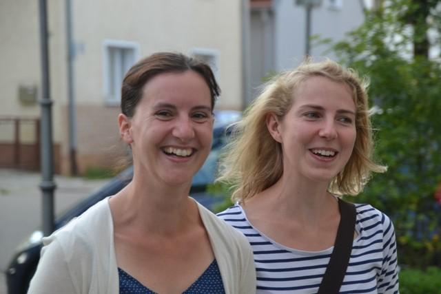 Unsere jungen Frauen Frau Brost und Frau Seebauer